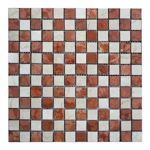 2,3x2,3 MIX-RV/B Scacchi anticato 30x30x0,8