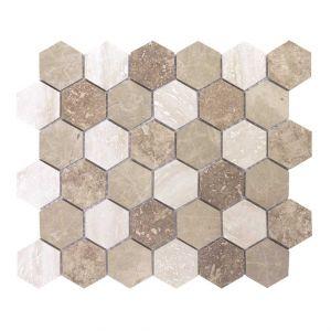 ESAGONA-3 30x26x0,8 beige