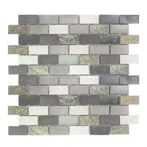 BRICK 2,3 QUARZO-1 grigio 30x30x0,8