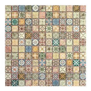 Mini PATCHWORK-1 colorato 2,3x2,3 30x30x0,8