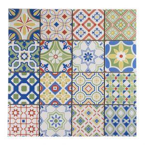 Casa ARTE colorato 7,5x7,5 30x30x0,75