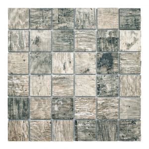 Mosaico VINTAGE-2 noce 4,8x4,8 30x30x0,8
