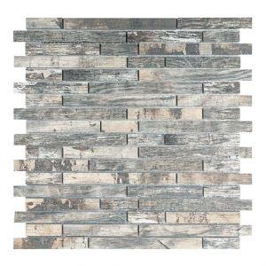 Mosaico BRICK VINTAGE-2 noce 30x30x0,8