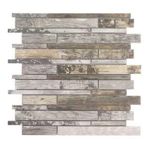 Mosaico MULTI VINTAGE-3 grigio/noce 30x30x0,8