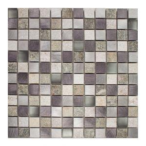 2,3X2,3 MIX-QUARZO-1 grigio 30x30x0,8