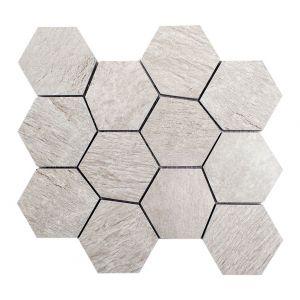 Mosaico ESAGONA-5 Ardesia beige 25,9x22,4x0,9