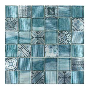 NOBLESSE-2 4,8x4,8 azzurro 30x30x0,8