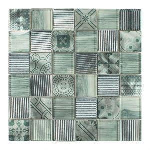NOBLESSE-4 4,8x4,8 verde 30x30x0,8
