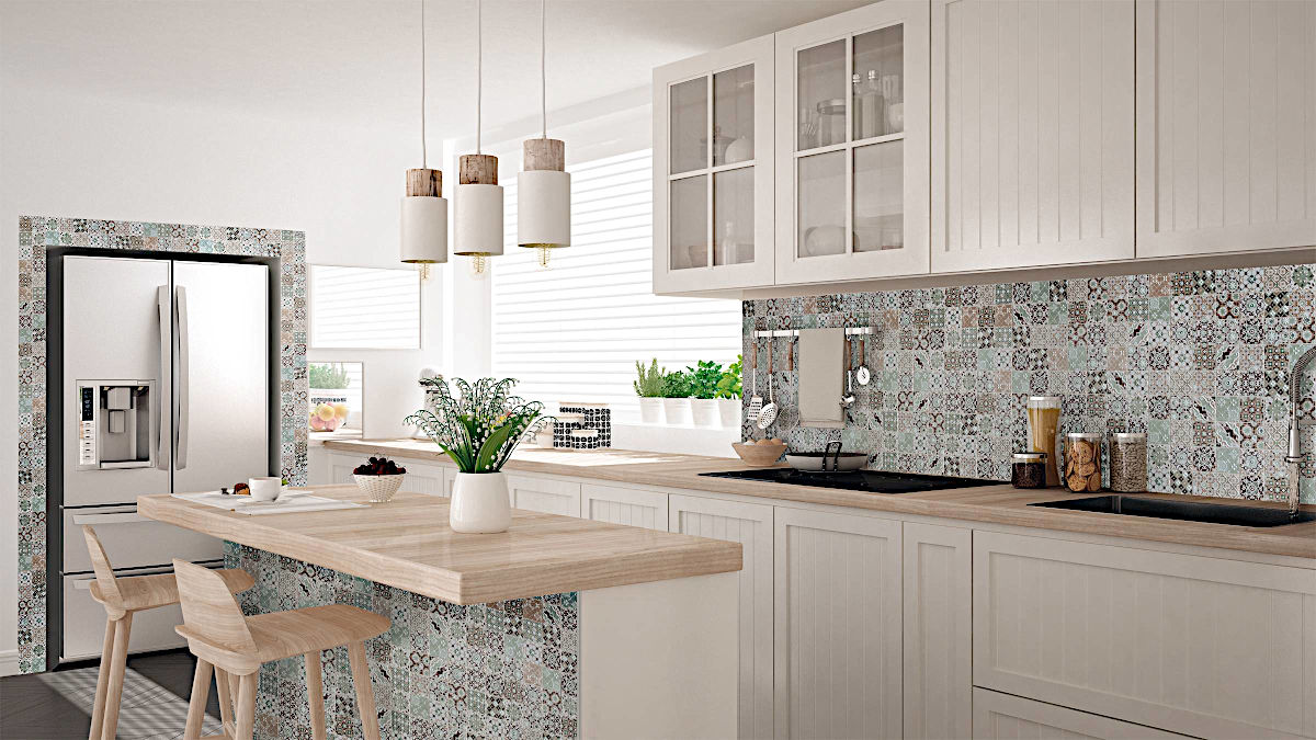 Keramikmosaik Casa Küche